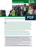 Transnational Organized Crime and Peacebuilding in East Africa