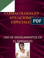 Farmacologia situaciones especiales