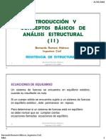 2020-05-14 Conceptos básicos de Análisis Estructural-2♠️