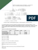 Problemas sobre sistemas de ecuaciones 3x3