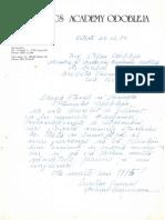 1982 – Cybernetics Academy Odobleja