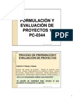 3-El proceso de preparación y evaluación de proyectos