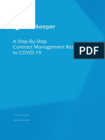 Contract Management Response to COVID-19