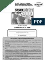 Prova Da 3a Fase - Pss 2009