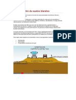 Estabilización de suelos blandos