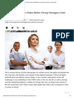 5 Reasons Women Make Better Hiring Managers than Men _ Jobsoid Blog