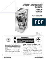 Lennox G43 Manual