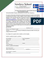 Autorización para la inscripción