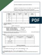 Taller de Monomios y polinomios