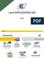 Presentación 2020 C&M SERVICENTROS