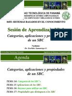 1.4 Categorías, aplicaciones y propiedades de un SBC