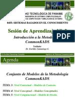 2.2   Conjunto de modelos de la metodología CommonKADS