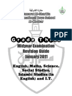 G3 Midyear Revision Guide [Jan 2011]