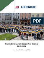 Ukraine - USAID Country Development Cooperation Strategy 2019-2024