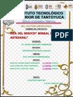 PROYECTO EN EQUIPO GESTION DE POLITICAS LEGALES MORRAL DE IXTLE ECOLOGICA