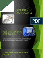 AISLAMIENTOS HOSPITALARIOS