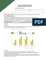 Guía de aprendizaje Actividad 2 IIIº Ciencias de la Salud