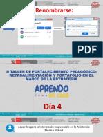 Ppt Portafollio e Informe -Dia 4