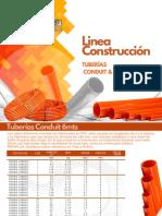 TUBERIAS CONDUIT & SCH.pdf