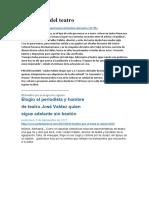 Jose Antonio Valdez Pallete - Articulos