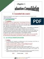 Cours - Gestion CHAPITRE 1 - Module évaluation consolidation - 3ème Economie & Gestion (2019-2020) Mme Aben Samia