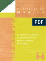 La Atención a Menores y sus Familias en los Servicios Sociales Municipales.