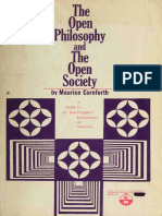 THE OPEN PHILOSOPHY AND THE OPEN SOCIETY (a Reply to Dr. Karl Popper's Refutations of Marxism) de Maurice Cornforth.pdf