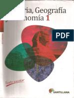 Texto Escolar Historia Geografia y Economia 1 - Perú