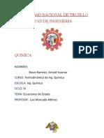 ECUACIÓN DE ESTADO