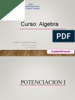 2do sec -potenciacion -algebra