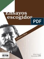 Ensayos escogidos - Ludovico Silva