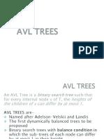 AVL Hashing Sorting