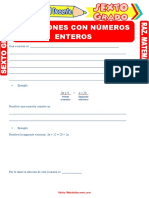 Ecuaciones-con-Números-Enteros-para-Sexto-Grado-de-Primaria