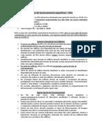Regras de funcionamento específicas DFis