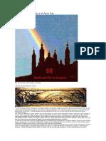 La Basílica del Pilar y el Arco Iris