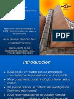 Homicidio Suicidio Bogota