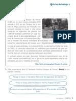 2018 Ps3p u6 Ficha Trabajo Las Areas Naturales Protegidas