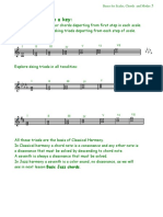 Bases for Scales, Chords, Modes 2