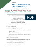 FORMATO  del Informe Académico N° 2