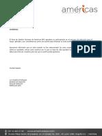 Carta Agradecimiento AmericasBPS