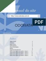 manual ...Passo a passo como a consutora envia pedido no site ODORATA