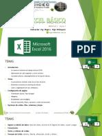 EXCEL BÁSICO - Clase 1 - S