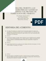 EXPOSICION 1 TECNOLOGIA DE CEMENTO