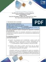 Guía de actividades y rúbrica de evaluación - Presaberes - Pre tarea - Reconocimiento del curso  (1)