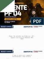 Plano de estudos na prática - Agente PF 04 - Fernando Mesquita