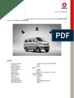 Cotizador Changan New Van