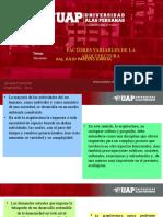4. VARIABLES DE LA ARQUITECTURA
