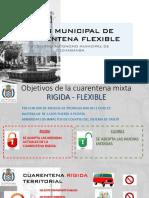 Plan Municipal de Cuarentena Propuesta Ajustado