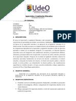 Supervisión y Legislación Educativa