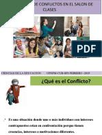 Resolucion de conflictos en el salon de clases.ppt